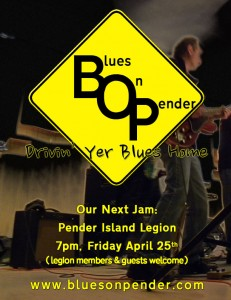 April 25th jam night