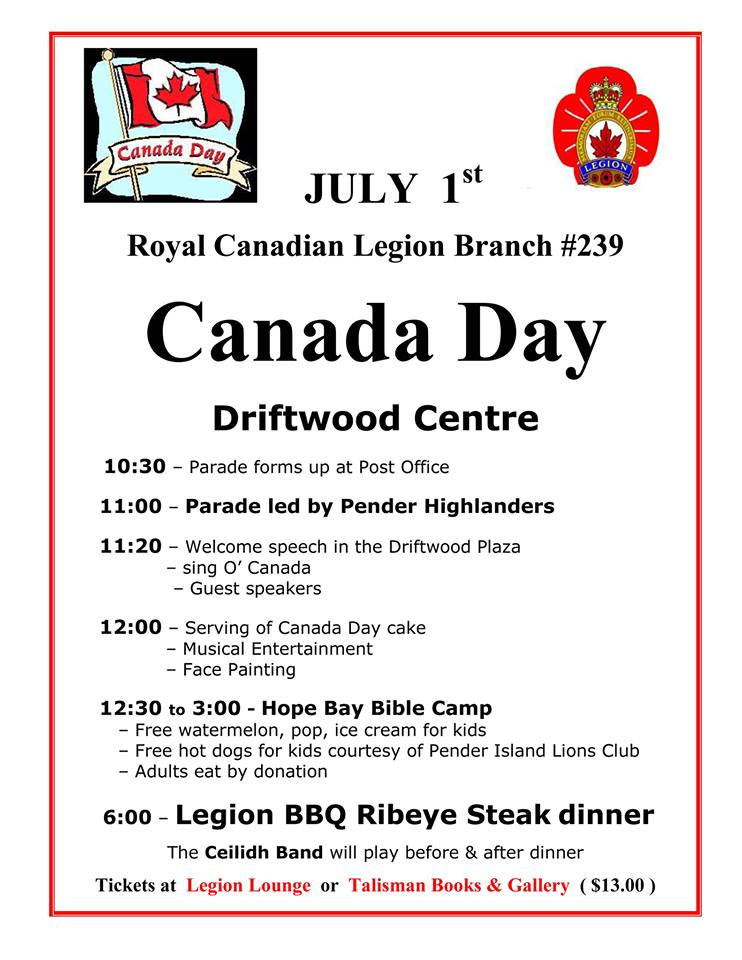 2014 Canada Day poster