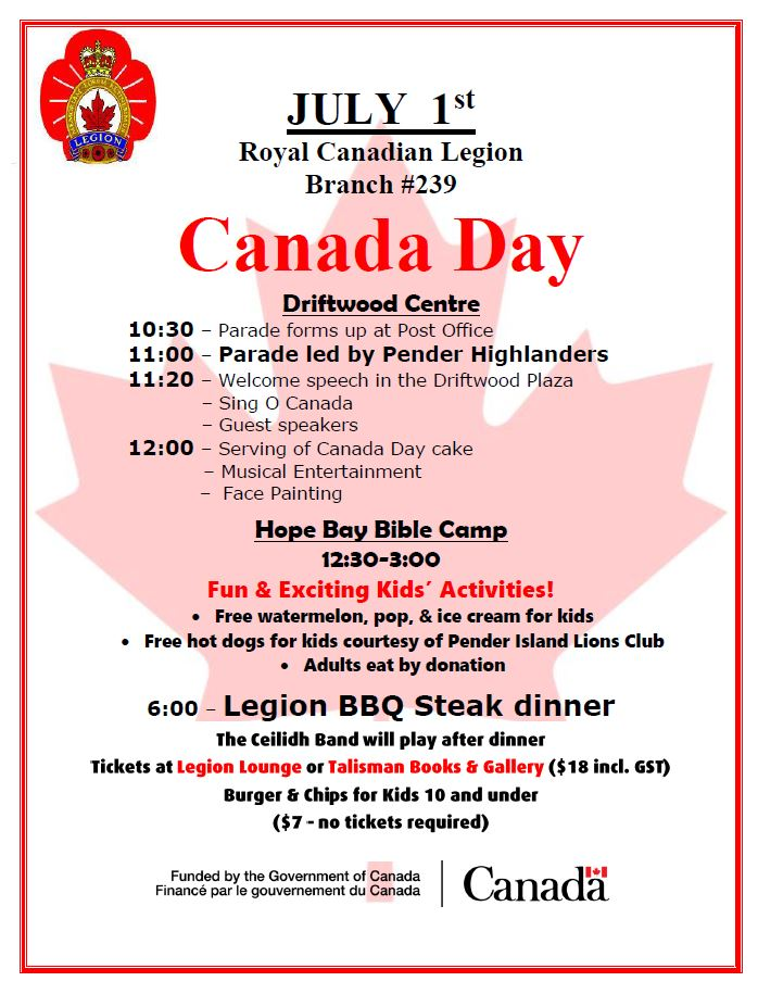 Canada Day 2017 Poster
